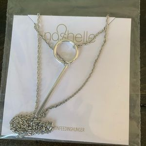 New Causebox Nashelle silver necklace